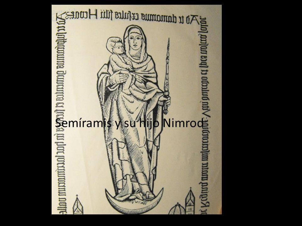 Semíramis y su hijo Nimrod
