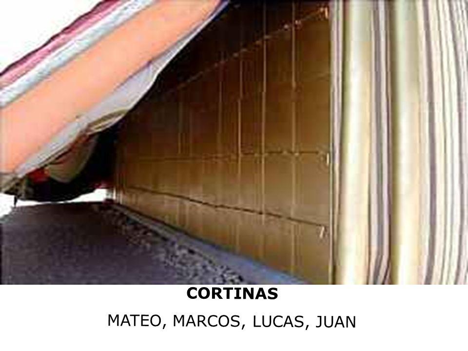 CORTINAS MATEO, MARCOS, LUCAS, JUAN
