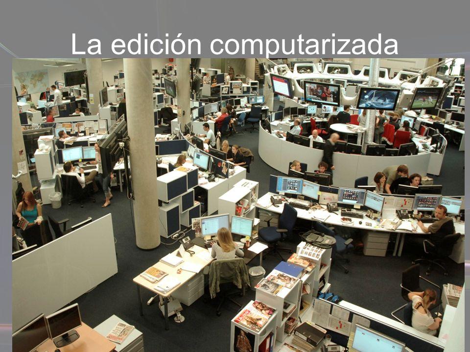 La edición computarizada El sistema de impresión offset digital es un proceso en el que se elimina el negativo y se imprime directamente del archivo electrónico, con la calidad del offset tradicional.