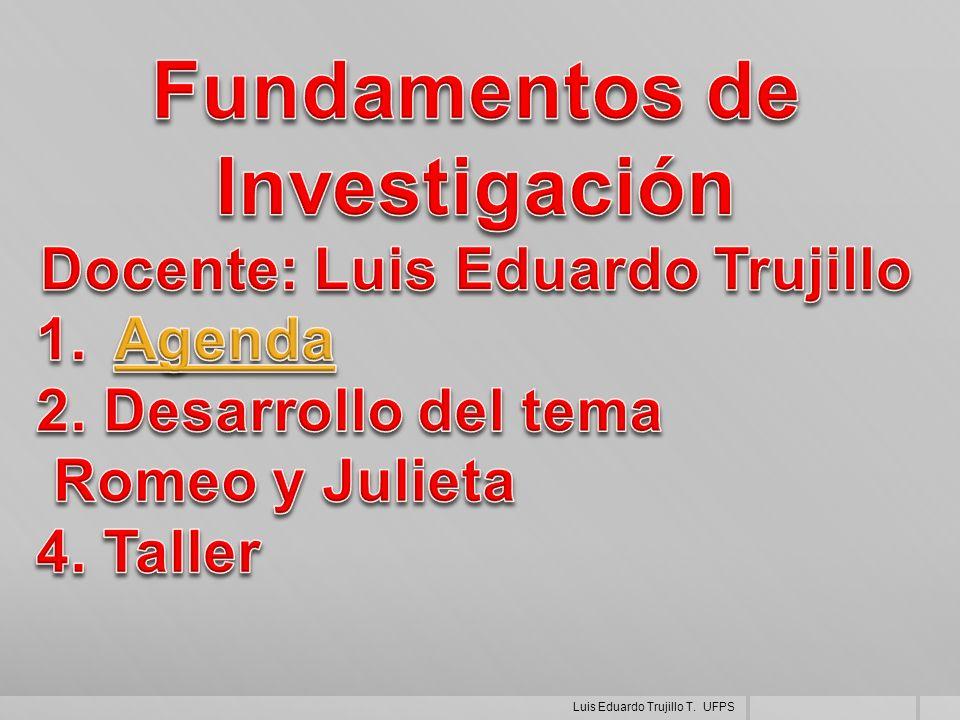 Luis Eduardo Trujillo T. UFPS