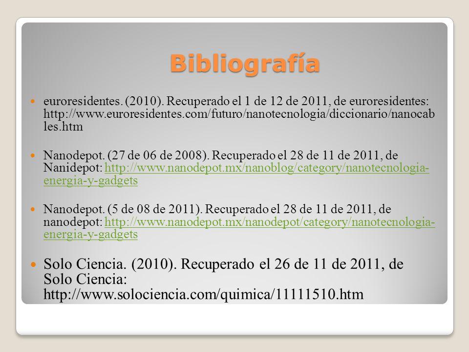 Bibliografía euroresidentes.(2010).