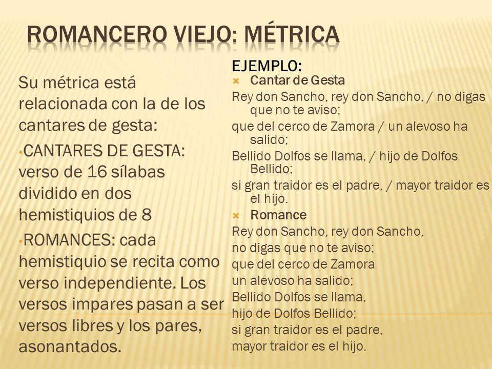 http://roble.pntic.mec.es/~msanto1/lengua/1romance.htm http://manolo-claselengua.blogspot.com.es/2010/11/el- romancero-viejo.html http://manolo-claselengua.blogspot.com.es/2010/11/el- romancero-viejo.html http://catedu.es/IESLiteratura/segundo%20ciclo/romancero.h tml http://catedu.es/IESLiteratura/segundo%20ciclo/romancero.h tml Coplas: http://www.materialesdelengua.org/LITERATURA/HISTORIA_LIT ERATURA/MANRIQUE/jorge_manrique_alumnos.pdf http://www.materialesdelengua.org/LITERATURA/HISTORIA_LIT ERATURA/MANRIQUE/jorge_manrique_alumnos.pdf http://www.uv.es/~ivorra/Literatura/Coplas.htm