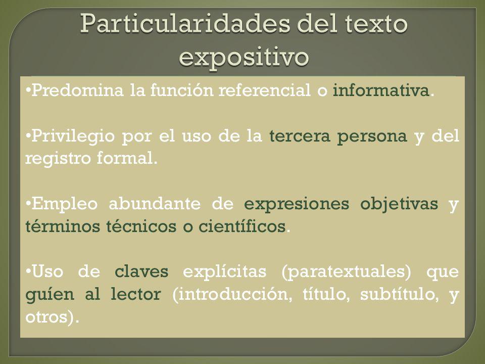 Introducción o presentación del tema Contiene una breve explicación del método que va a seguir el autor.