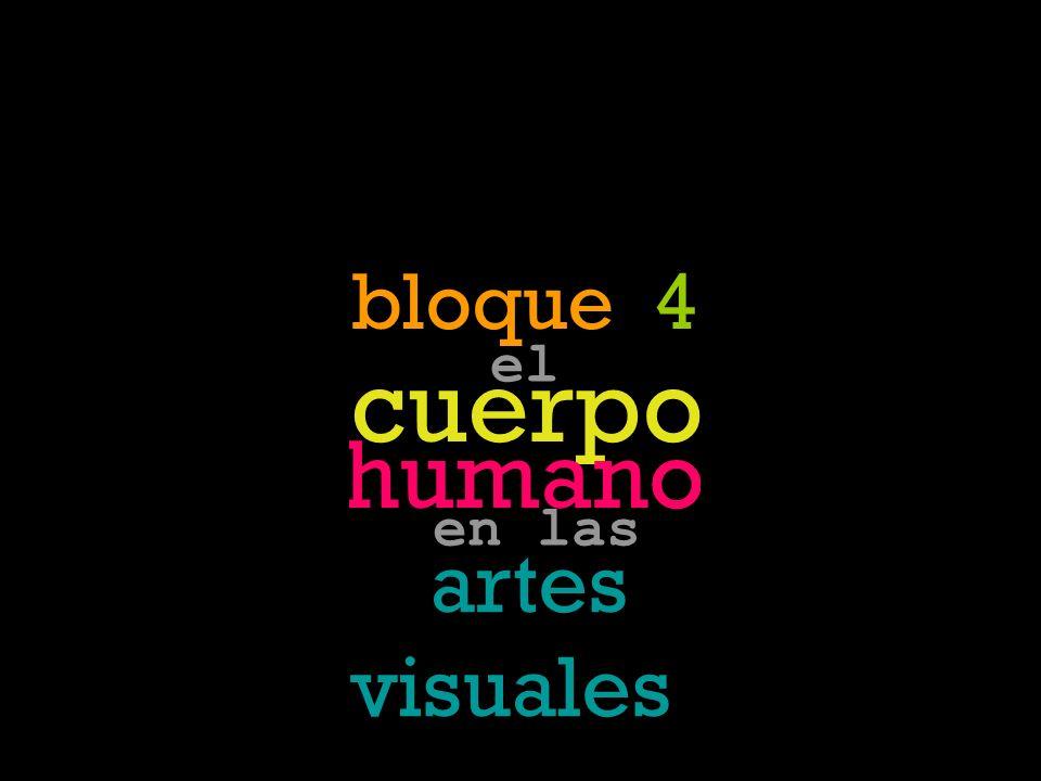 cuerpo identidad emoción vida muert e deseo memoria bloque 4 el cuerpo humano artes visuales en las