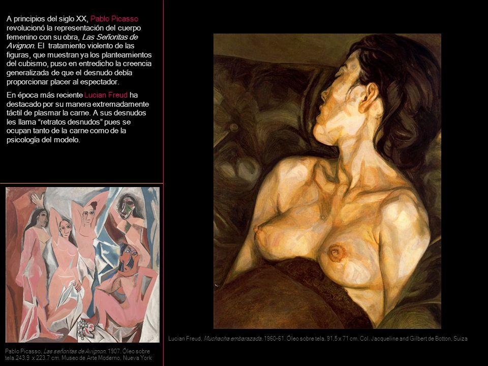 A principios del siglo XX, Pablo Picasso revolucionó la representación del cuerpo femenino con su obra, Las Señoritas de Avignon. El tratamiento viole