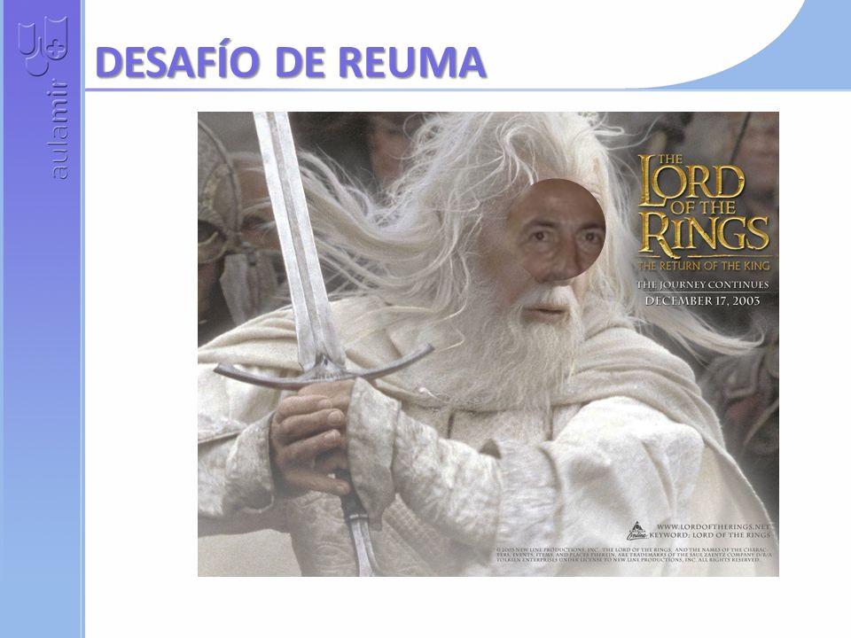 DESAFÍO DE REUMA