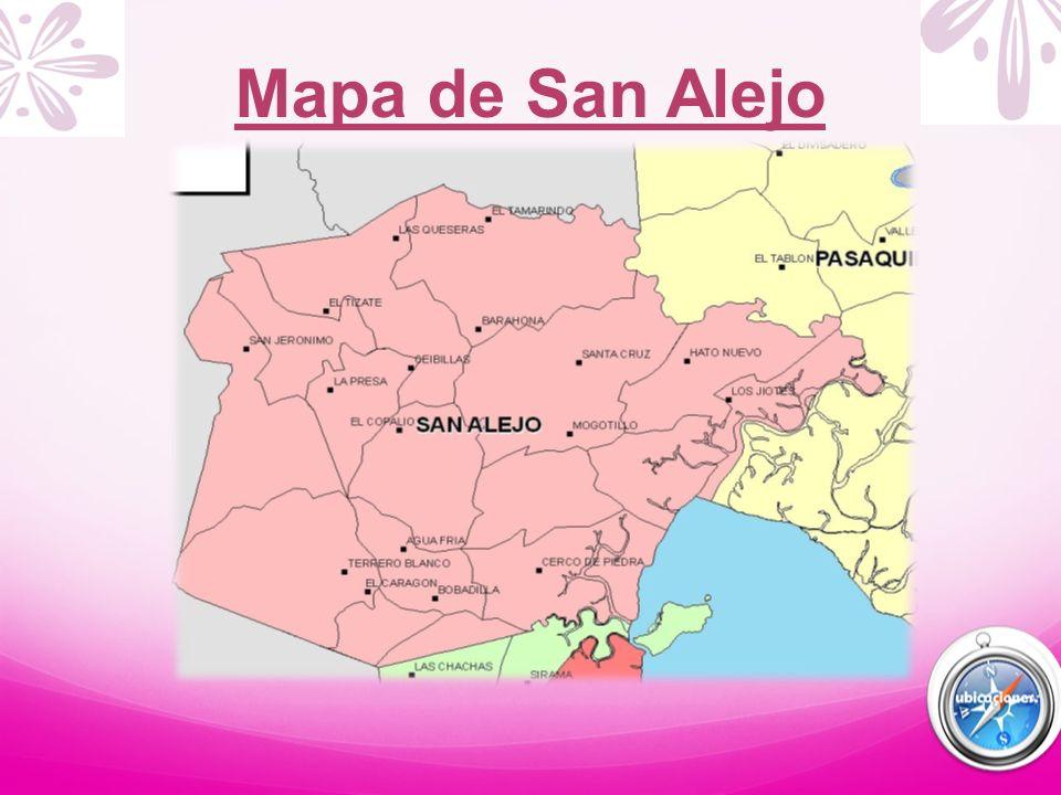 Mapa de San Alejo