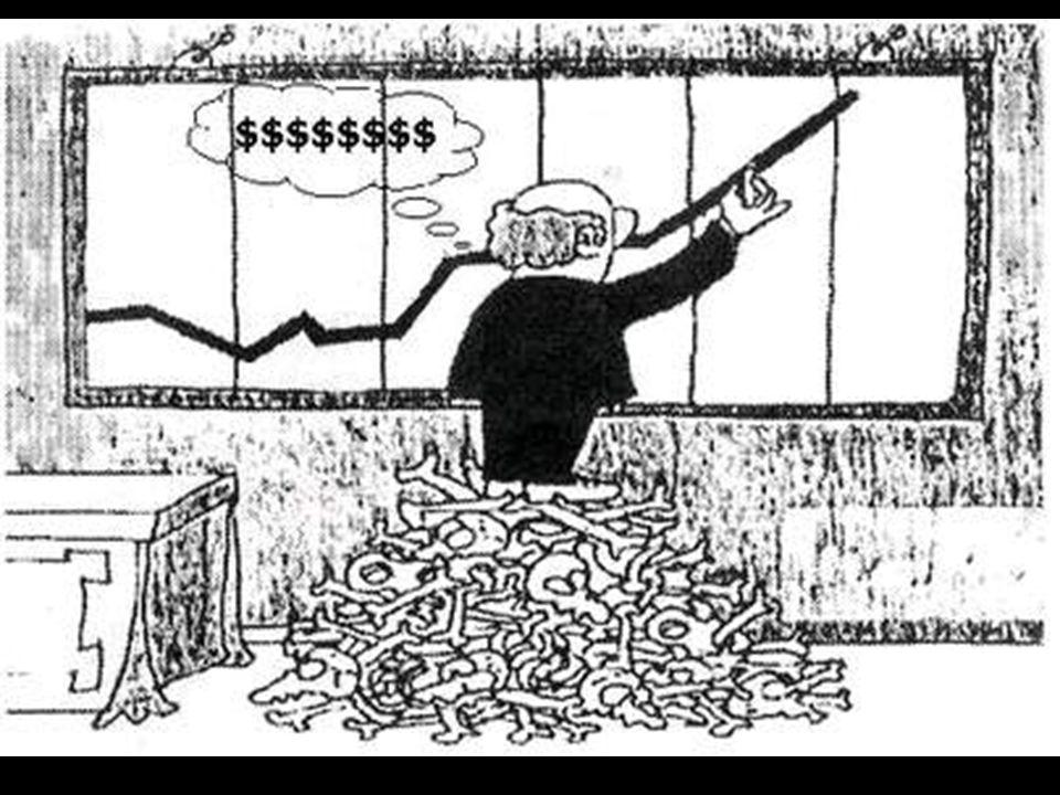 En la actualidad la producción agrícola responde al afán de lucro capitalista de las empresas multinacionales y de las élites políticas que las amparan; lo que comemos viene determinado por unos intereses económicos que no tienen en cuenta nuestras necesidades alimenticias ni los límites de producción del planeta; los recursos naturales están privatizados.