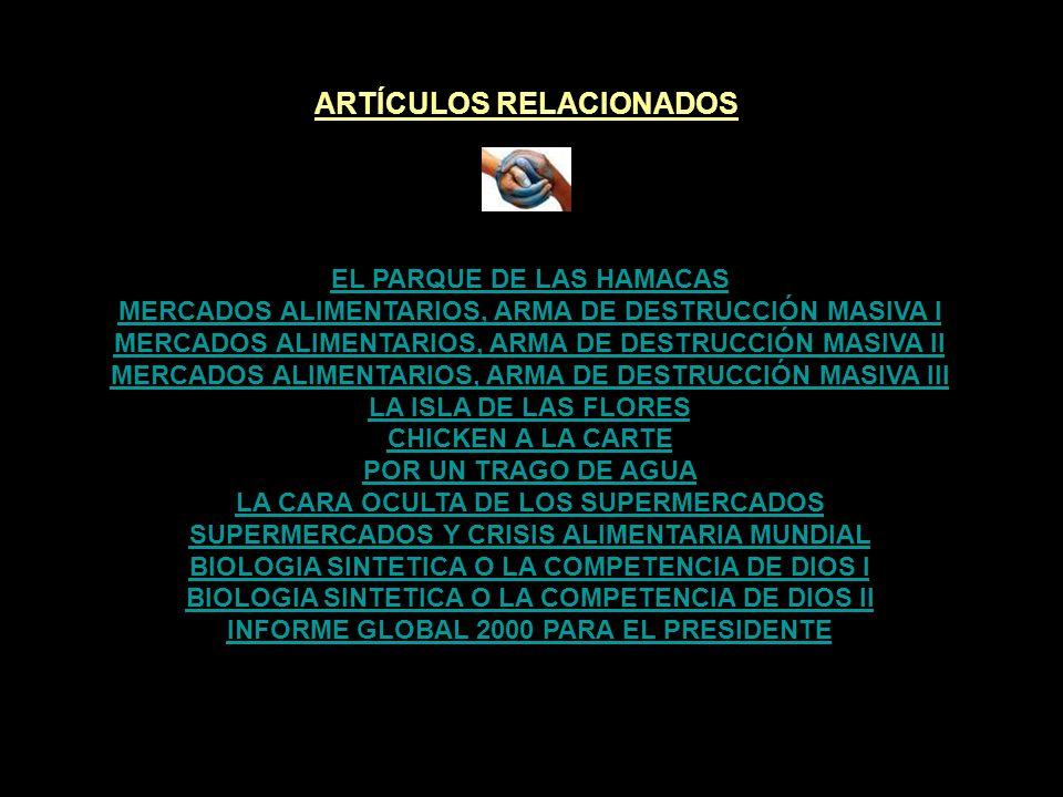 ARTÍCULOS RELACIONADOS ¡ TRANSGÉNICOS EN MI NEVERA .