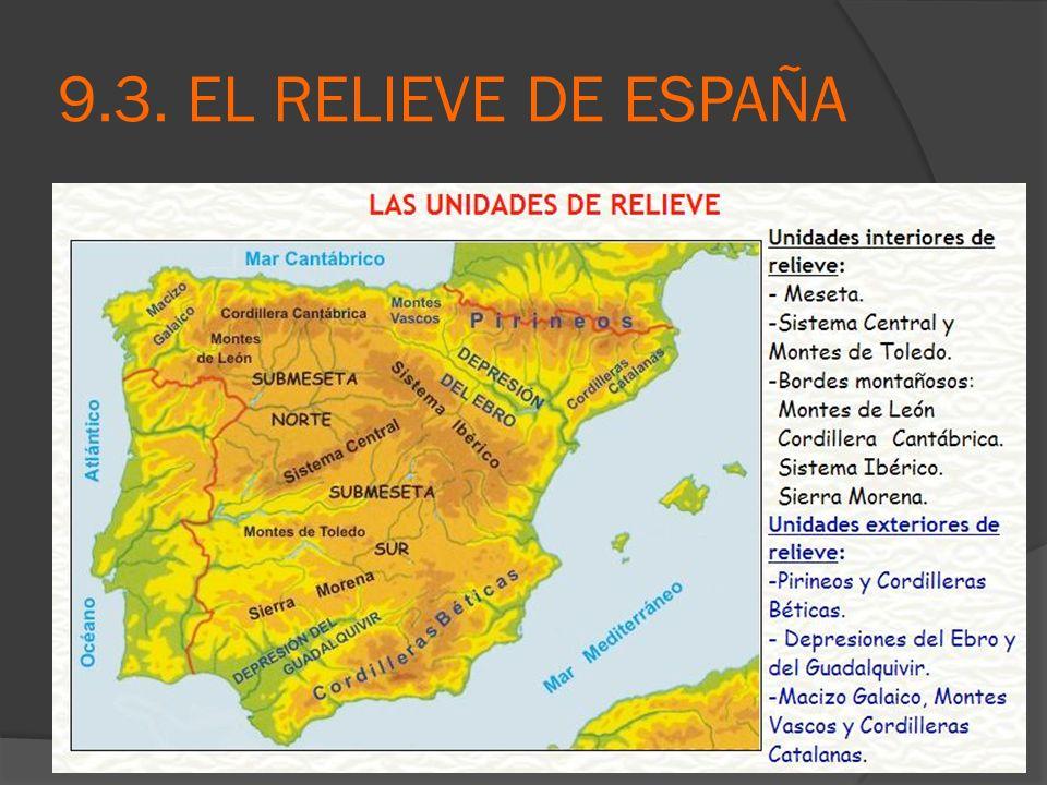 9.3. EL RELIEVE DE ESPAÑA