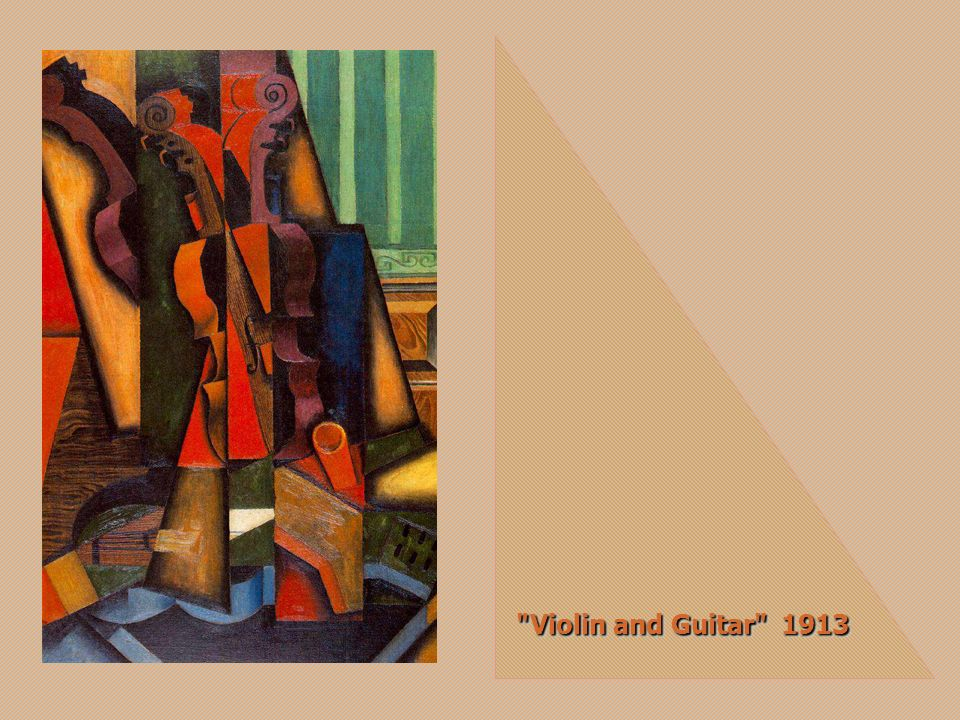 Guitar on a Table 1915