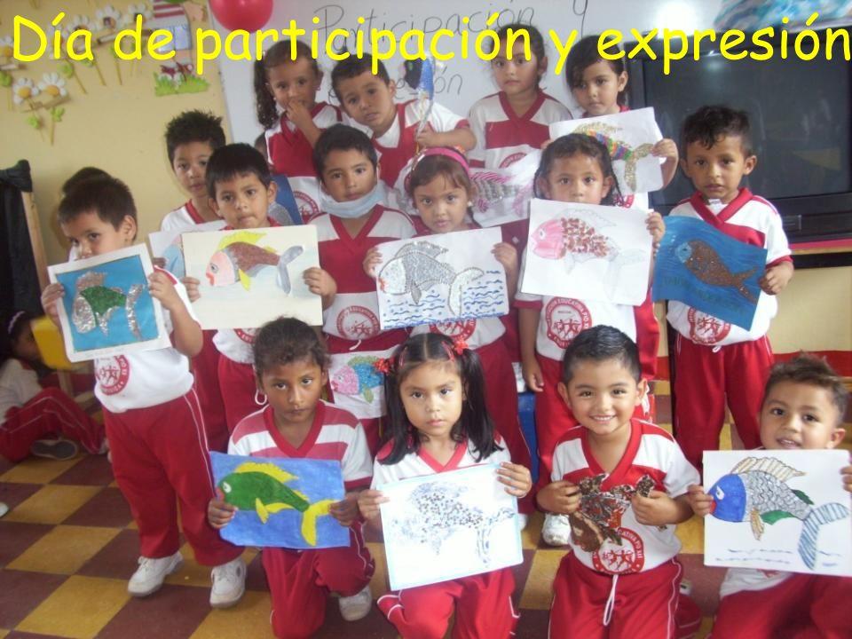Día de participación y expresión de conocimientos Día de participación y expresión