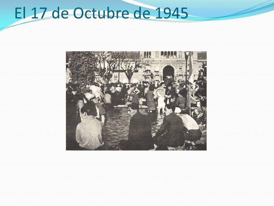 El 17 de Octubre de 1945