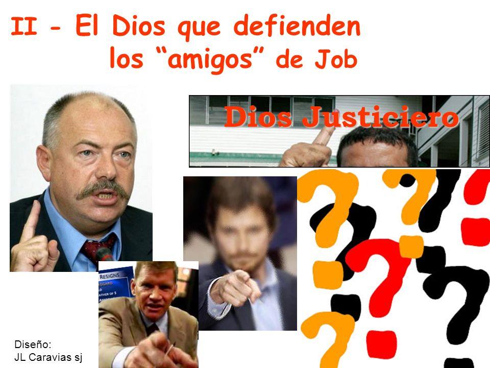 II - El Dios que defienden los amigos de Job Dios Justiciero Diseño: JL Caravias sj