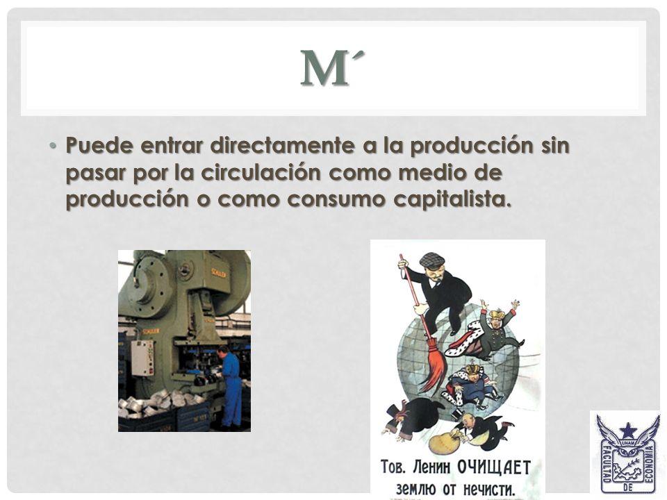 El proceso de producción no es solo eso, es también, la reproducción periódica de la plusvalía. El proceso de producción no es solo eso, es también, l