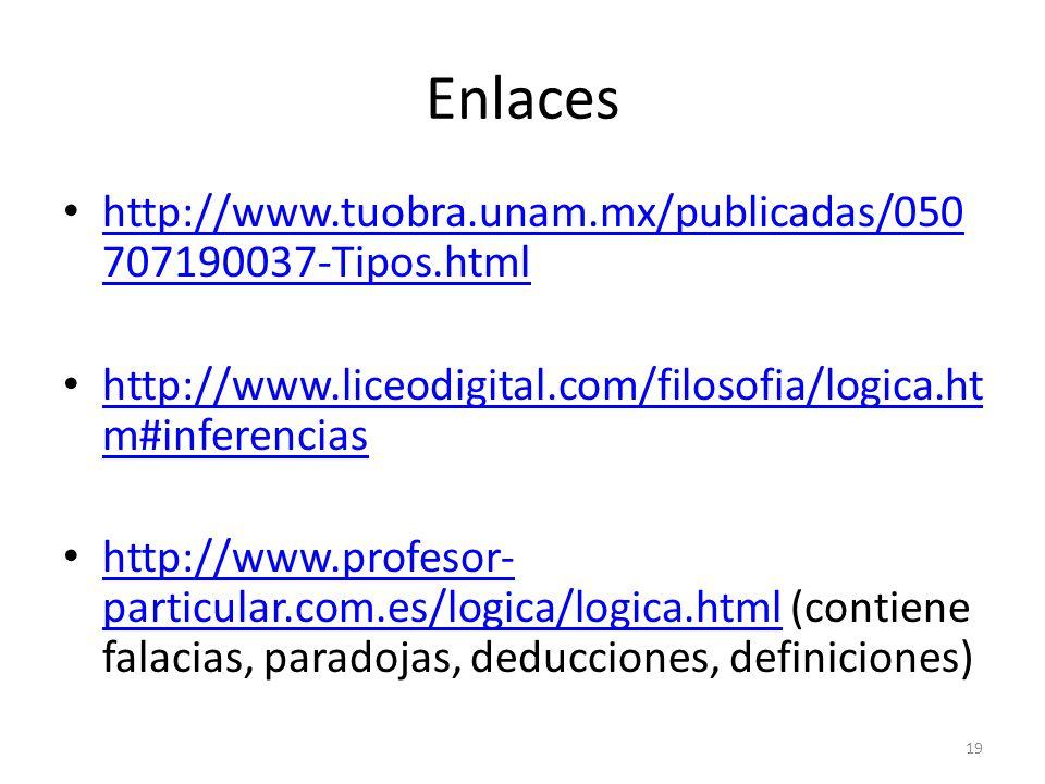 Enlaces http://www.tuobra.unam.mx/publicadas/050 707190037-Tipos.html http://www.tuobra.unam.mx/publicadas/050 707190037-Tipos.html http://www.liceodi