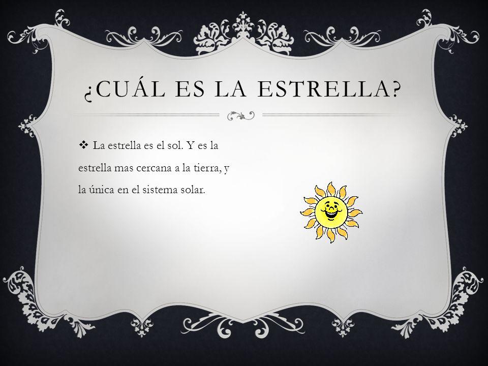 E l sol es importante porque es una estrella y todos los días pueden verlo y da vueltas alrededor de la luna.