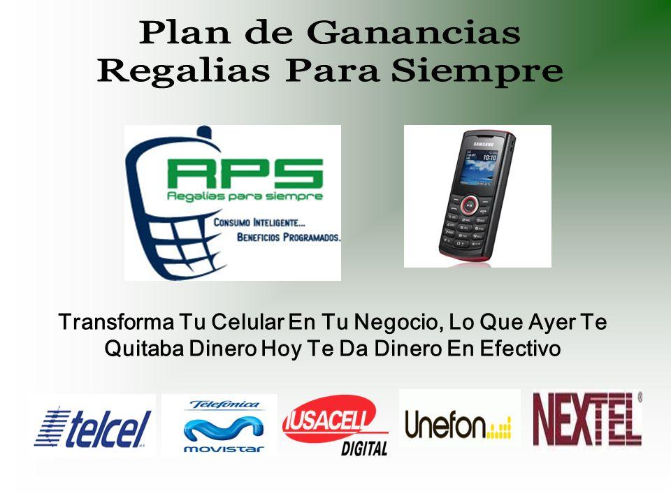 ¡Y con solo participar con RPS.… El celular La empresa que prefieres ¡ya lo tienes.