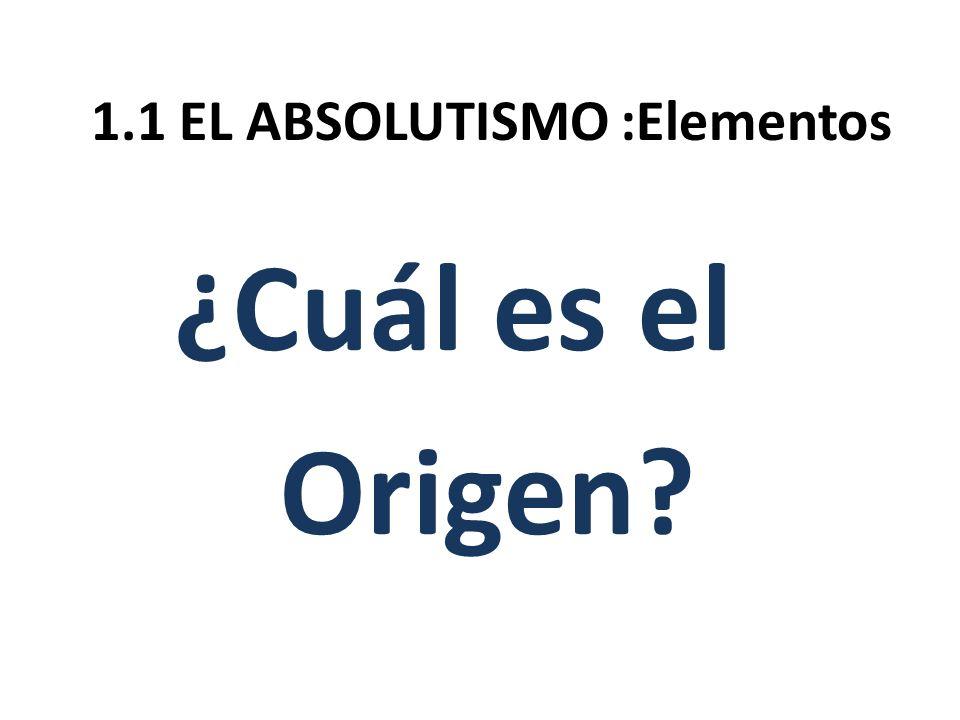 ¿Cuál es el Origen?