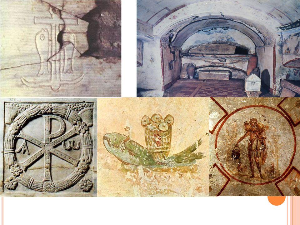 C RISTIANISMO E I MPERIO Persecución de las autoridades romanas.