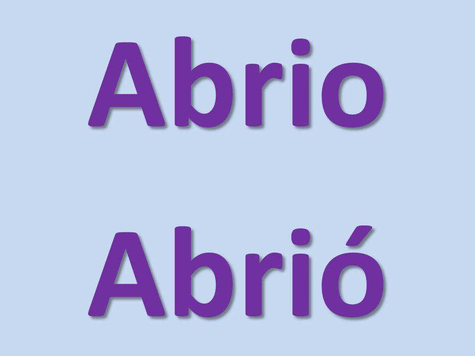 AbrioAbrió