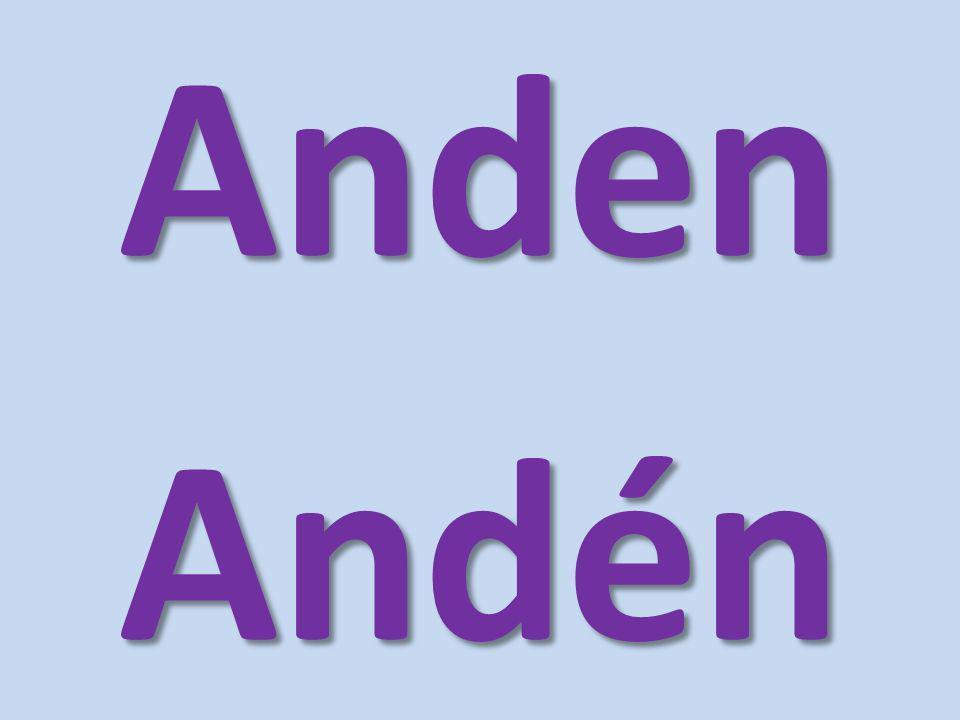 AndenAndén