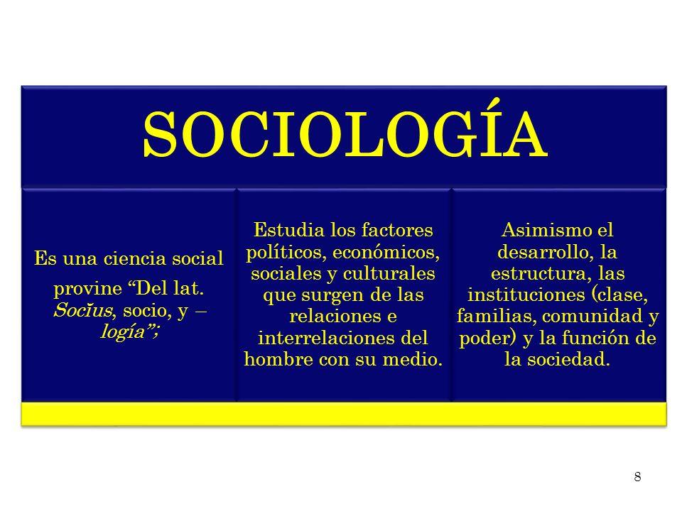 Es por esta razón, que el sociólogo debe producir un conocimiento conceptual claro y preciso del mundo social, a partir de un estudio o trabajo científico.