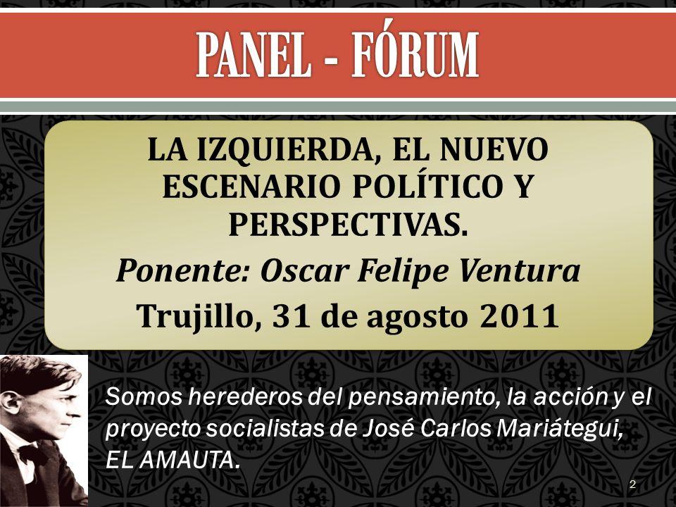 Somos herederos del pensamiento, la acción y el proyecto socialistas de José Carlos Mariátegui, EL AMAUTA. 2
