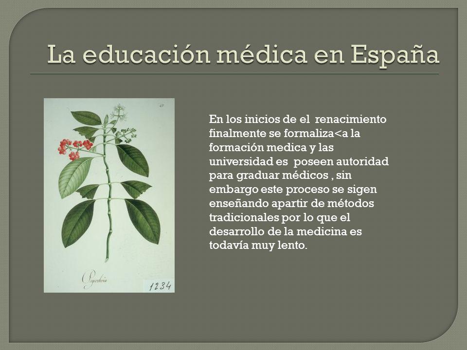 Los métodos utilizados por el estado español para manejar los problemas de salud en la península fueron trasplantados a las indias.