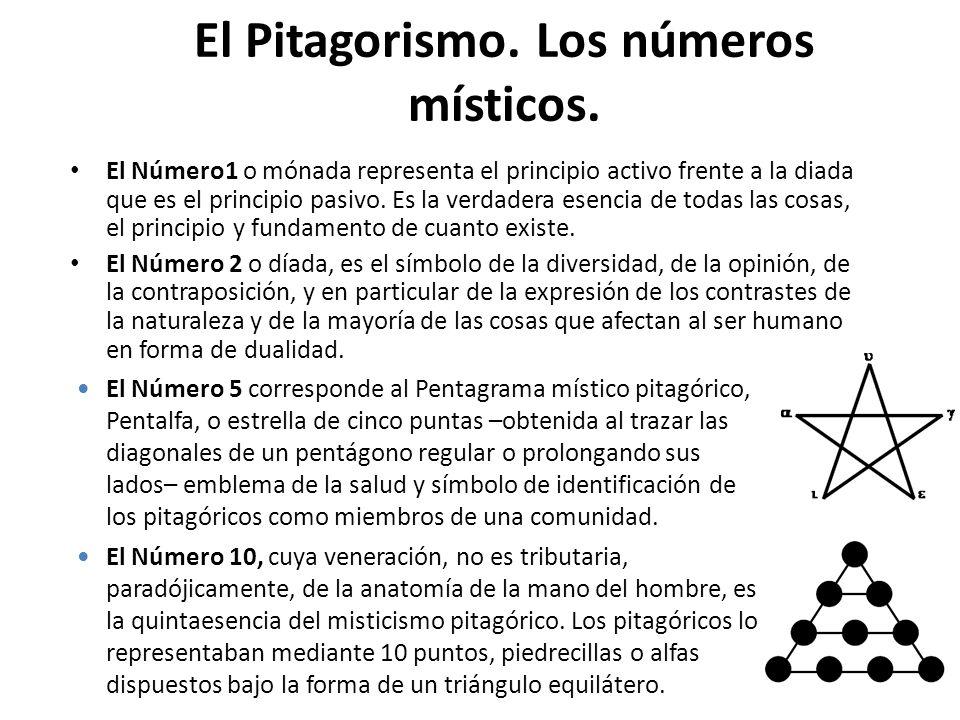 Los Presocráticos Los Pitagóricos El Pitagorismo es una «escuela» diferenciada y significativa, que pervivió durante largo tiempo y que extendió su in