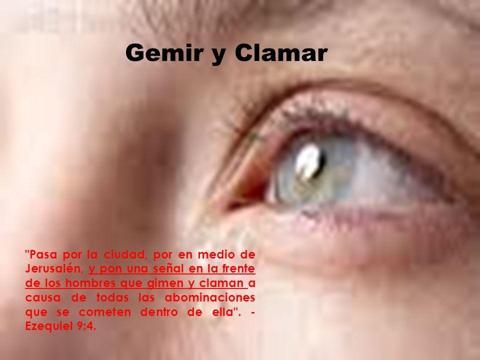 Gemir y Clamar
