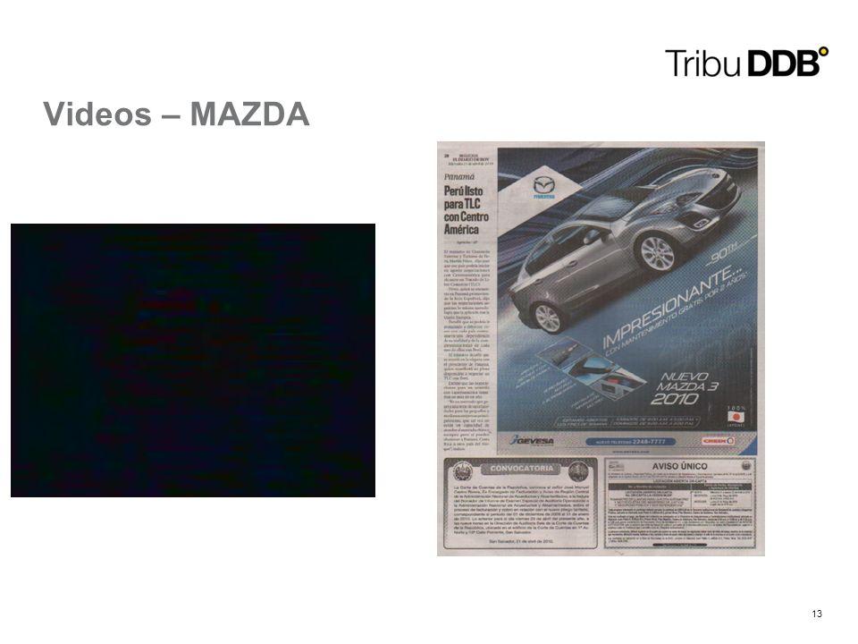 13 Videos – MAZDA