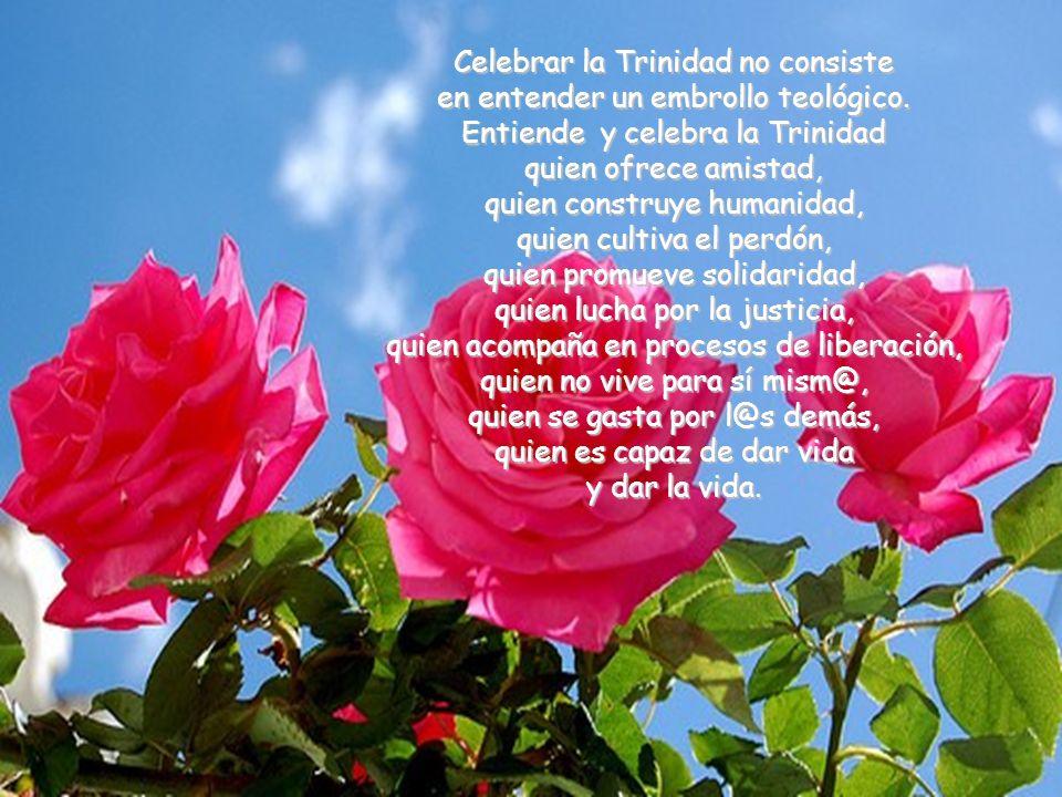 Trinidad: el Dios vivo del amor. El Dios crucificado de la compasión, el Dios liberador de la vida, Dios en femenino, el Dios que rompe las cadenas, l