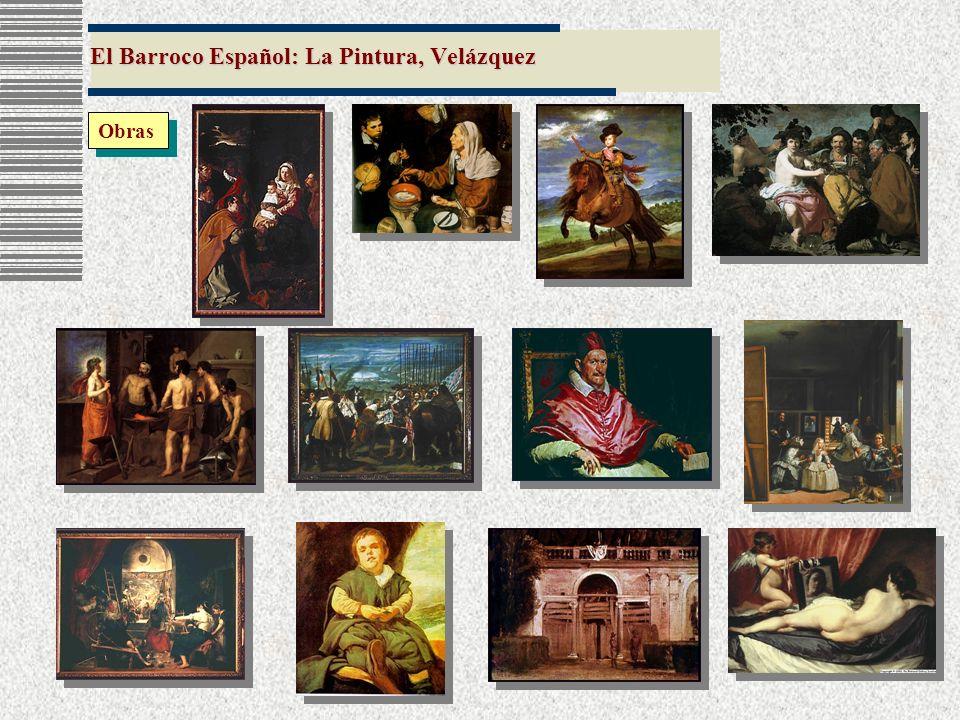 El Barroco Español: La Pintura, Velázquez Obras