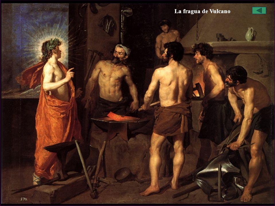 El Barroco Español: La Pintura, Velázquez Obras La fragua de Vulcano