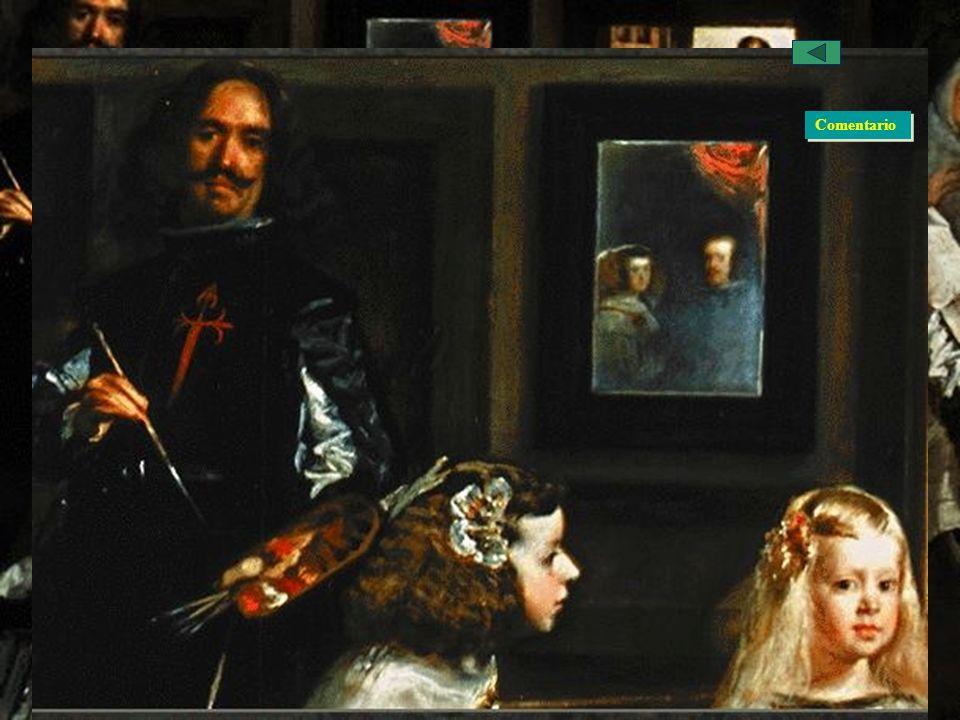El Barroco Español: La Pintura, Velázquez Obras La familia de Felipe IV o Las Meninas Comentario