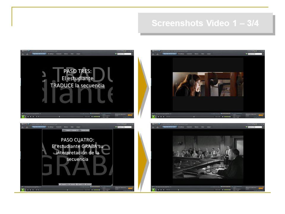 Screenshots Video 1 – 3/4