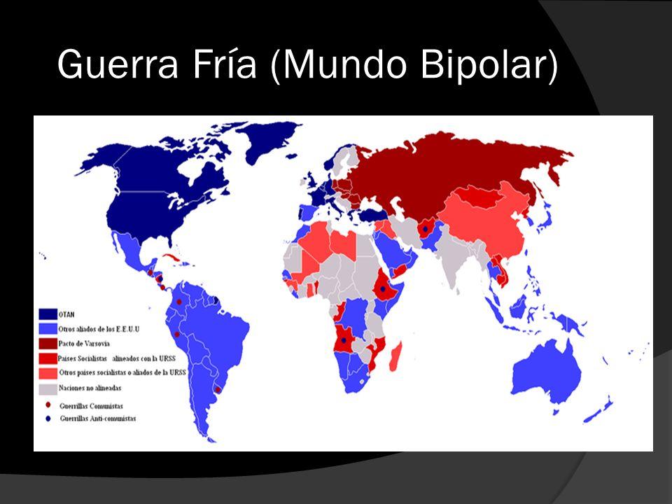 Guerra Fría (Mundo Bipolar)