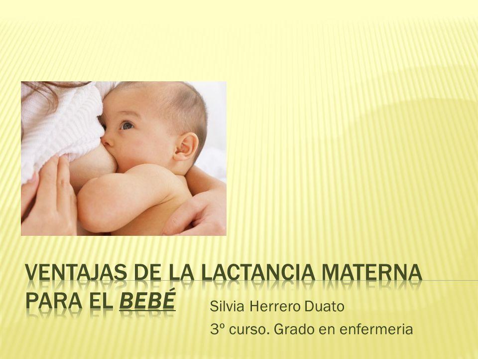Es la alimentación mas completa y adecuada para los lactantes, asegurando su salud y supervivencia.