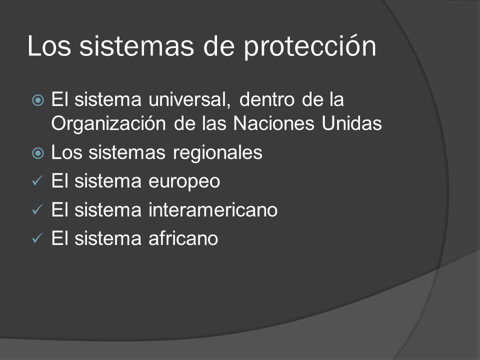 Necesidad histórica de la tutela internacional de los Derechos Humanos Richard Baer, Dr.