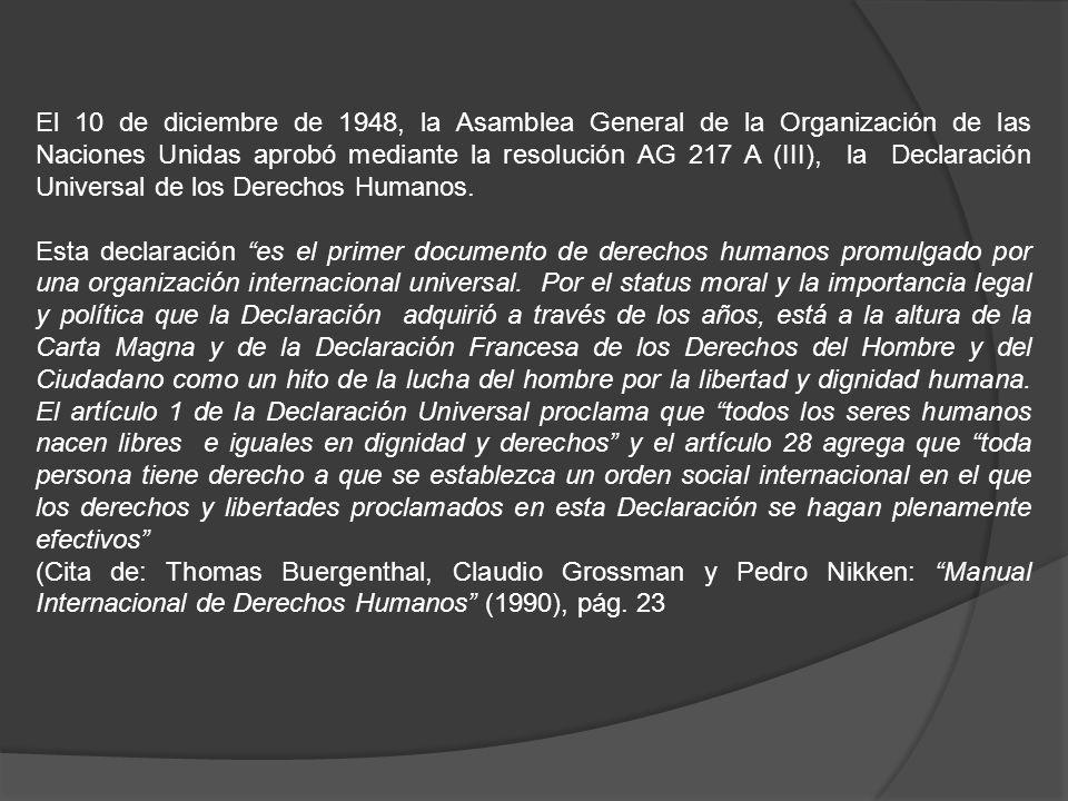 Orígenes del Sistema Interamericano de Protección Bogotá, 1948, desfile inaugural de la Organización de Estados Americanos