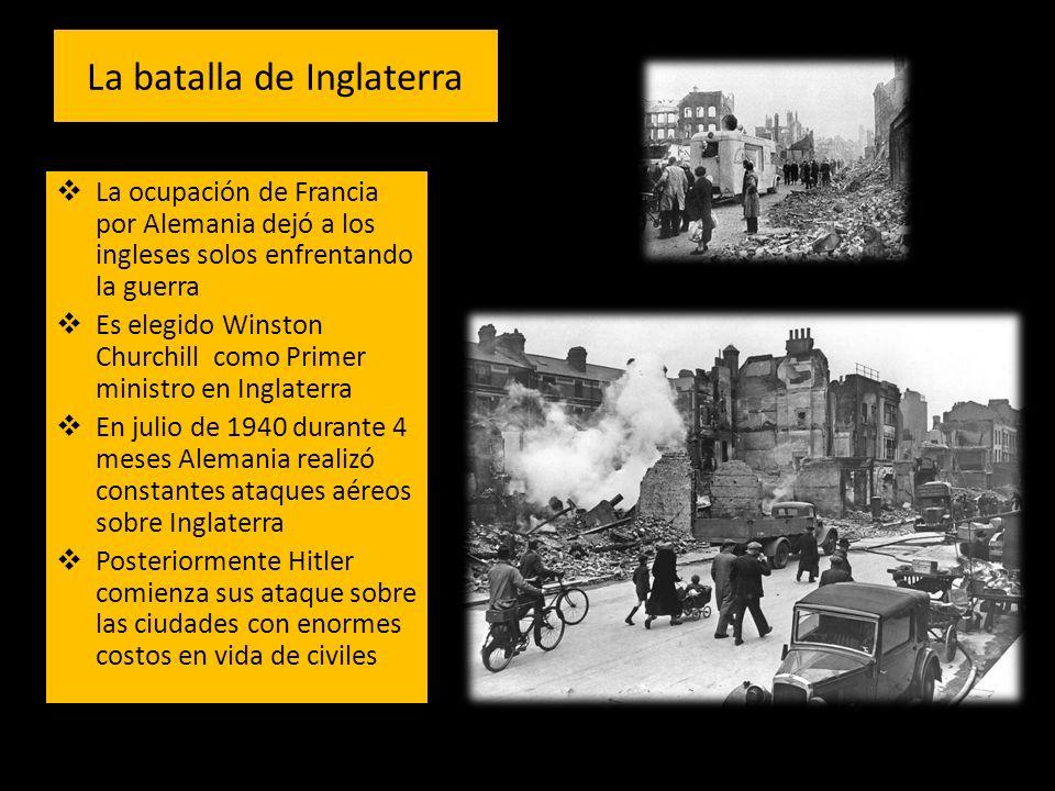 Alemania no logra doblegar a los ingleses Alemania ayuda a los Italianos en su conquista sobre Grecia 1941 el Eje conquista Grecia