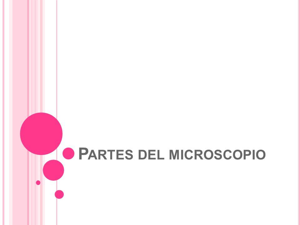 P ARTES DEL MICROSCOPIO
