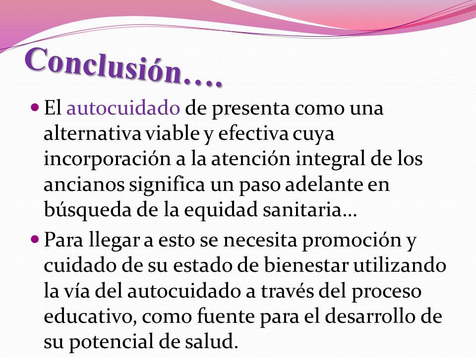 Conclusión….