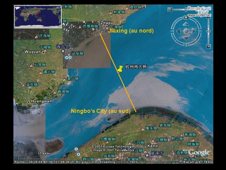 2/43 Jiaxing (au nord) Ningbos City (au sud)