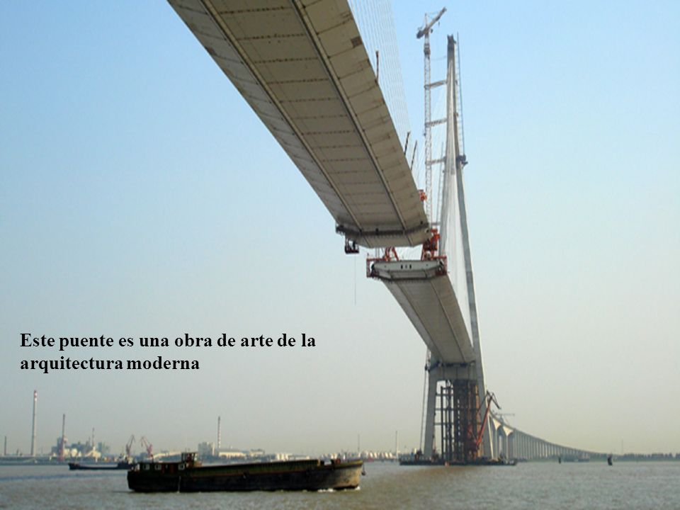 5 Este puente es una obra de arte de la arquitectura moderna