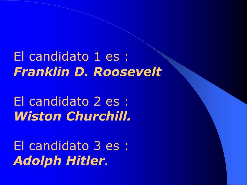 Por cual de los 3 candidatos votarías ?? Elige tu respuesta.... Piensa detenidamente....
