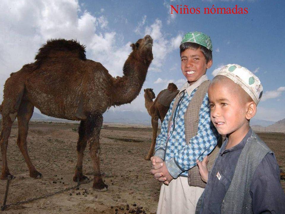 Niños nómadas