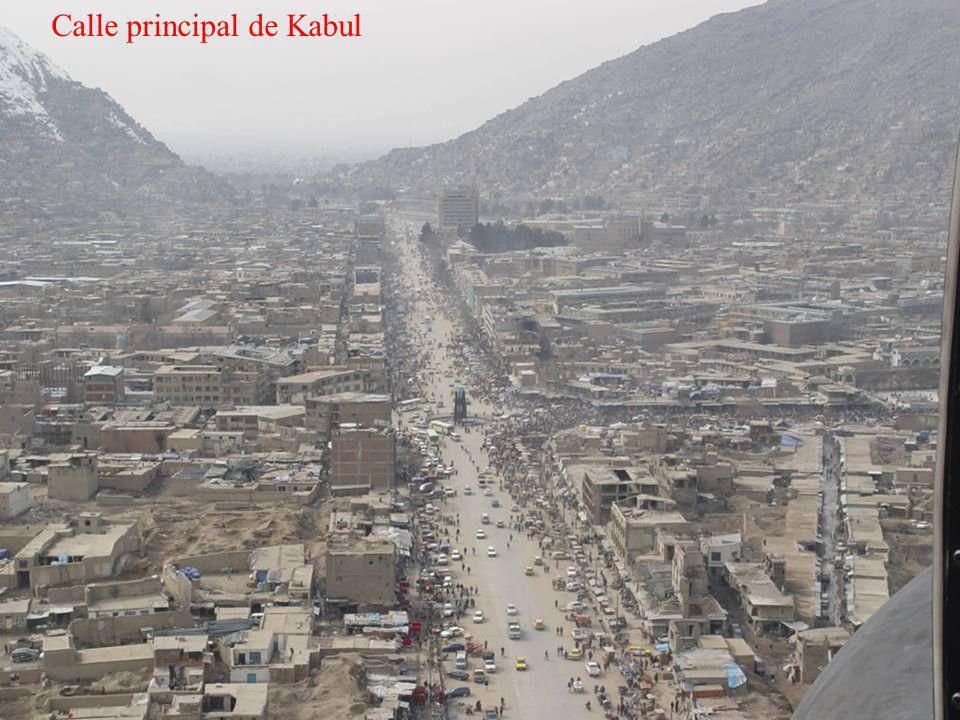 Calle principal de Kabul