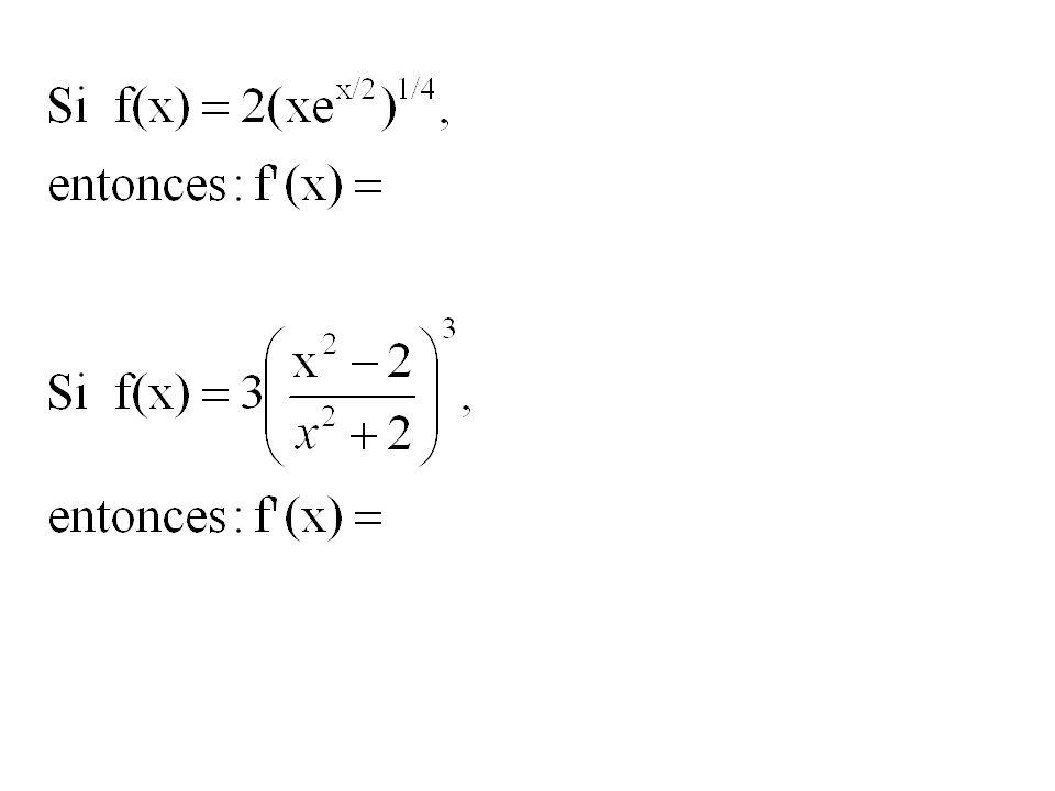 Potencia de una función: